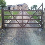 Automated Security Barrier in Abbey Dore 6