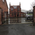 School Gate Design in Donagh 1