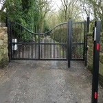 Automatic Gate Control in Aber-banc 10