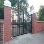 Automated Security Barrier in Alwoodley Gates 7