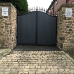 Automated Security Barrier in Alwoodley Gates 9