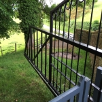 Automatic Gate Control in Aber-banc 12