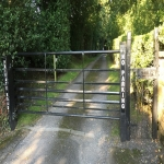 Automated Security Barrier in Abbey Dore 2