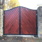 School Gate Design in Mill Green 6