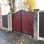 Automated Security Barrier in Alwoodley Gates 1