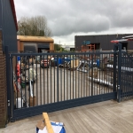 School Gate Design in Strabane 2
