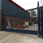 School Gate Design in Powys 4