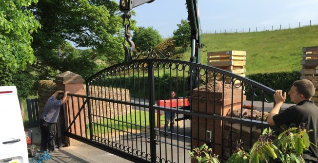 Electric Gates in Bainton