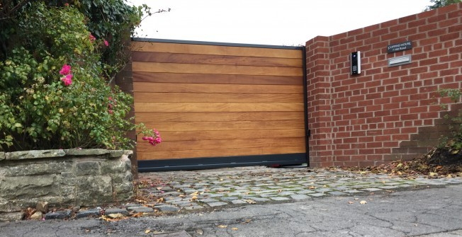Automatic Gates for Driveways in Abbots Ripton