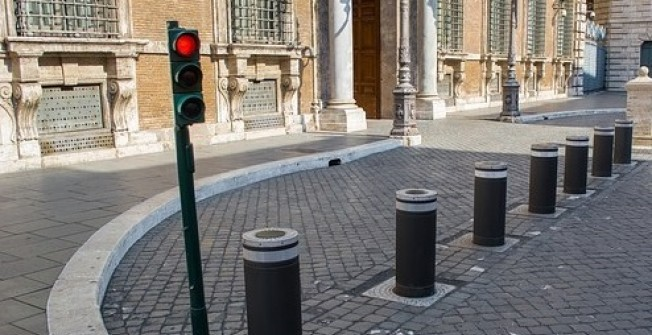 Automated Street Bollard in Alcester Lane's End